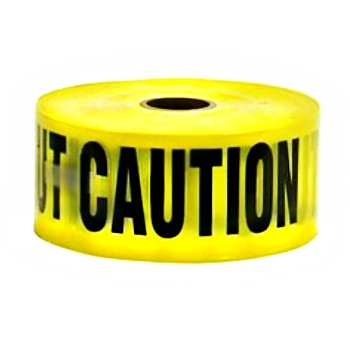 "Caution Tape ~ 3"" x 1000 feet"