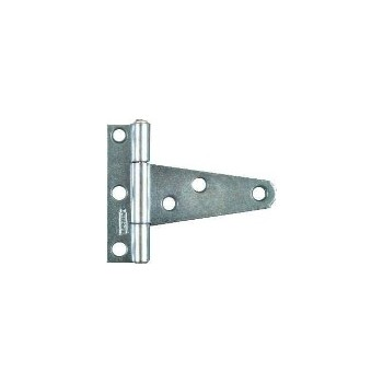 Light T Hinge, Zinc ~ 2""
