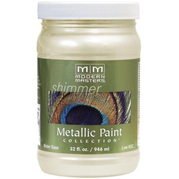 Metallic Paint, Flash Gold 32 Ounce