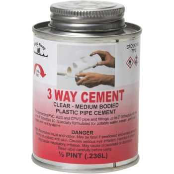 8 Oz 3-Way Med Cement