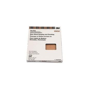 3M 051144885954 Sandpaper - Garnet Mineral - 150 grit
