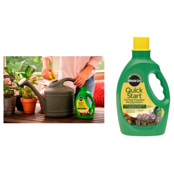 Miracle-Gro Quick-Start Planting & Transplant Starting Solution ~ 48 oz