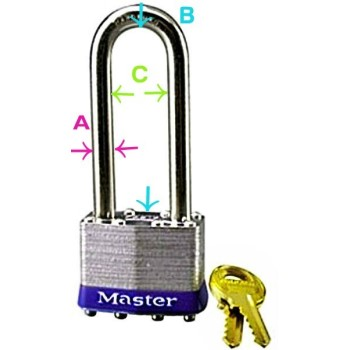 2-1/2in. Shackle Padlock