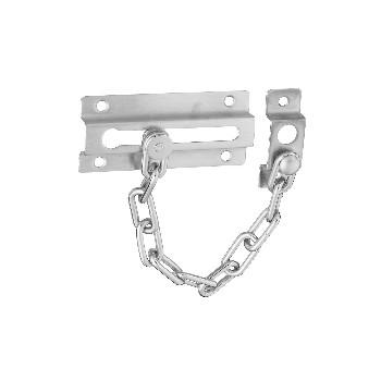 National 274407 Door Chain, Satin Chrome