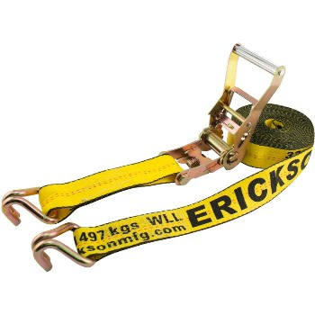 "Ratchet Strap - 10,000 Lb Rated ~ 2"" x 27 Ft"