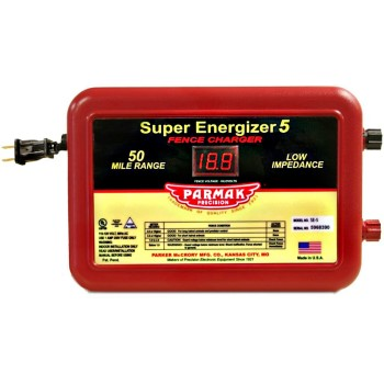 Parmak S.E. 4 Updated Model SE 5  Fence Charger - 50 Mile Range