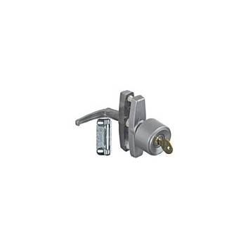 Aluminum Univ Keyed Knob Latch, Visual Pack 1308