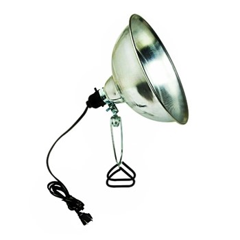 Coleman Cable 0162 Brooder/Heat Clamp-on Reflector Lamp ~ 10""