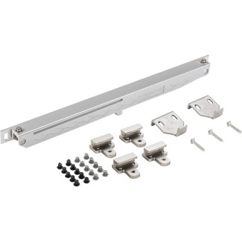 Sliding Door Hardware, Soft Close ~ Satin Nickel
