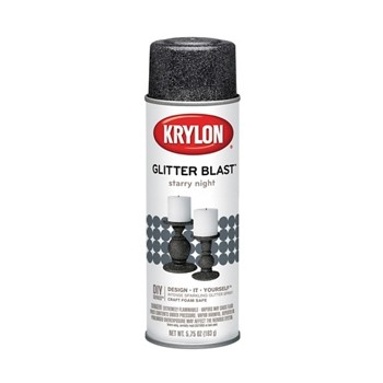 Glitter Blast Spray Paint,  Starry Night  ~ 5.7 5oz
