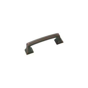 Pull - Mulholland Oil Rubbed Bronze Finish - 3 inch