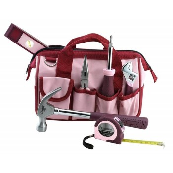 Great Neck 6709 7pc Pink Tool Set