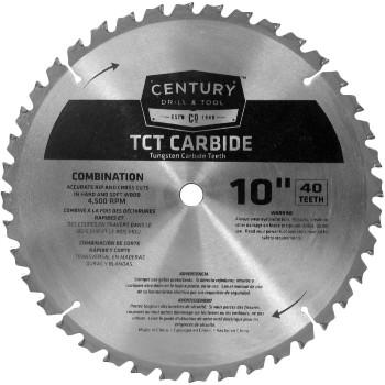 10in. 40t Carbide Blade