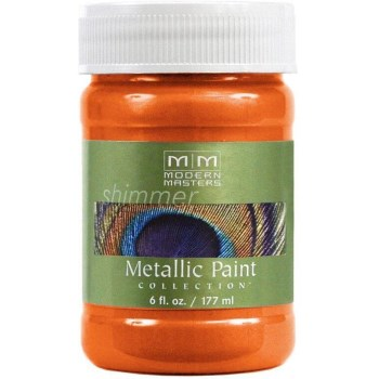 Metallic Paint, Burnt Orange 6 Ounce