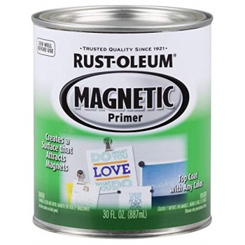 Rust-Oleum 247596 Magnetic Latex Primer ~ One Quart