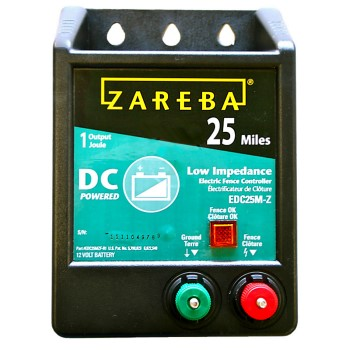 Zareba 25 Mile DC Battery Operated Low Impedance Fence Charger
