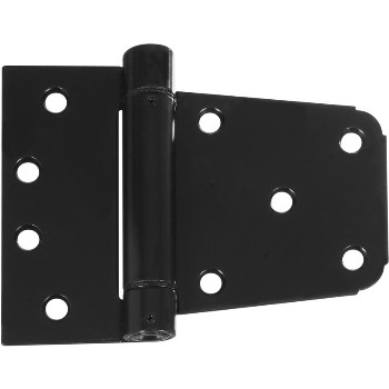 Auto Close Gate Hinge, Black ~ 3 1/2""