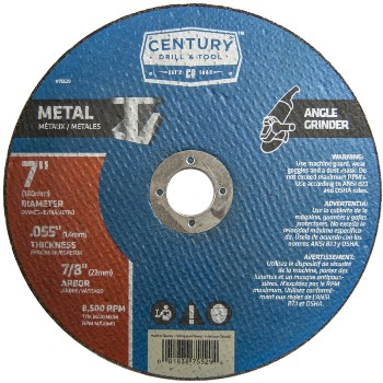 Century Drill & Tool   75529 7in. X.055 Metal Cut Wheel 75529