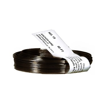 Mechanics & Stove Pipe Annealed Wire, 19 Gauge ~ 50 Ft