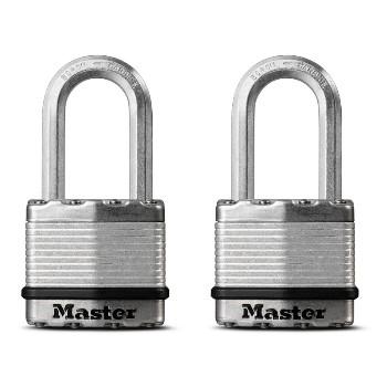 MasterLock M1XTLFHC 2pk 1-3/4in. Lam Padlock