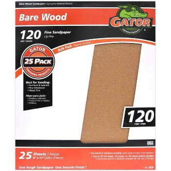 Ali Industries 4226 Sandpaper, Garnet ~ 120 Grit