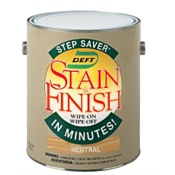 Step Saver Stain & Finish,  Neutral - 1 Gallon