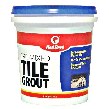 Pre-Mixed Tile Grout ~ Pint