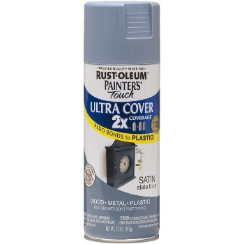 Rust-Oleum 249066 Ultra Cover 2X Spray ~ Slate Blue Satin