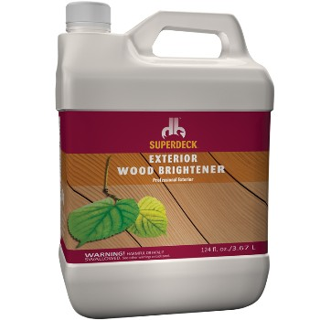 Exterior Wood Brightener ~ Gallon