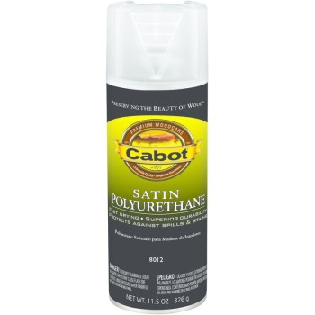 Satin Polyurethane - Spray