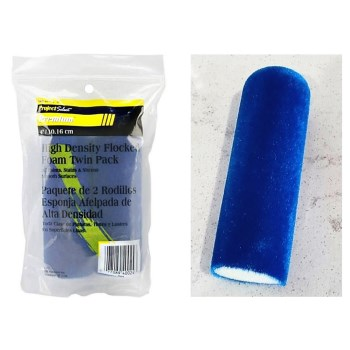 High Density Flocked Foam Mini Roller ~ 4""