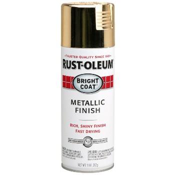 Rust-Oleum 7710830 Spray Metallic Paint~ Shiny Gold~ 11 oz