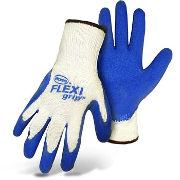Flexi-Grip Gloves w/Rubber Palm ~  Large