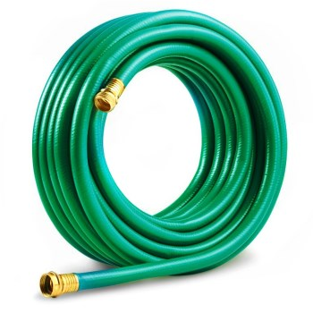 "Reinforced 4-Ply Water Hose ~ 5/8"" x 100 Ft"