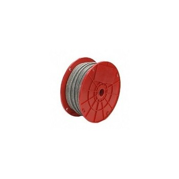 Galvanized Cable 7 x 19, 1/8 inch x 500 ft.