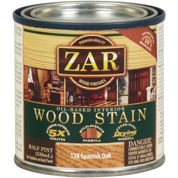 Wood Stain ~ Spanish Oak, 1/2 Pint