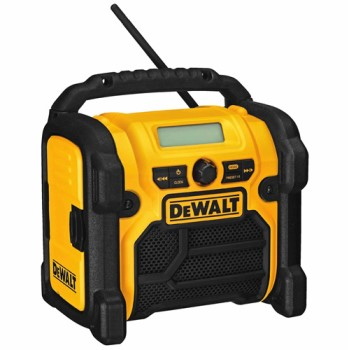 Worksite Radio, Compact ~ Battery Powered