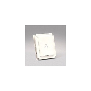 Builders Edge 130010001001 Mounting Block - White