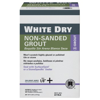 White Tile Grout