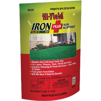 Iron Plus Soil Acidifier ~ 25 lb. Bag
