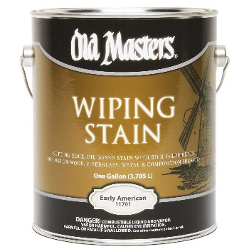 Old Masters 11701 Wiping Wood Stain,  Early American ~ Gallon