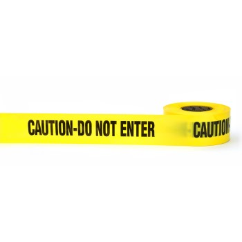 "Caution Do Not Enter Tape ~ 3""  x 300 Ft"