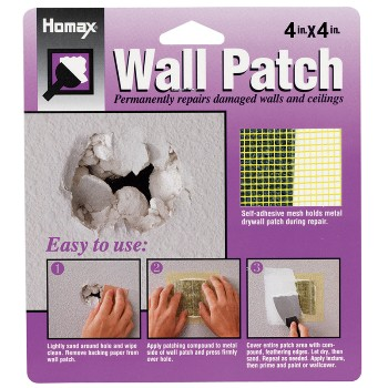 Homax   5504 Wall Patch, 4 x 4 inch
