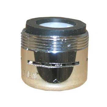 Dual Thread Slotted Aerator ~ Chrome Plated Brass