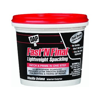 Fast 'N Final Spackling ~ One Gallon