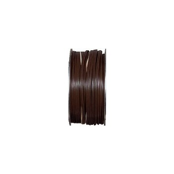 Lamp Cord - Plastic Insulated - Brown