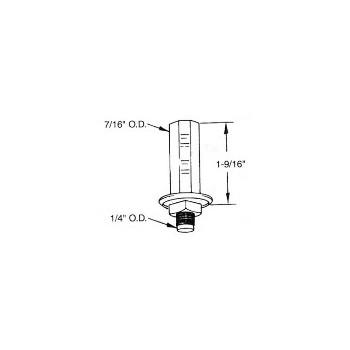 PrimeLine/SlideCo N6546 Bifold Dor Pivot Bot Mt