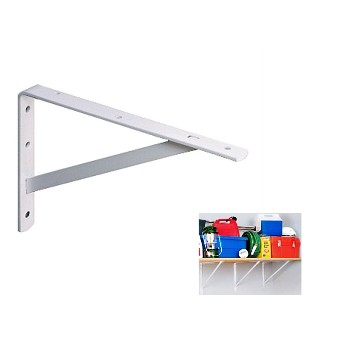 Shelf Bracket-Ultimate L/Extra Heavy Duty, White-20""