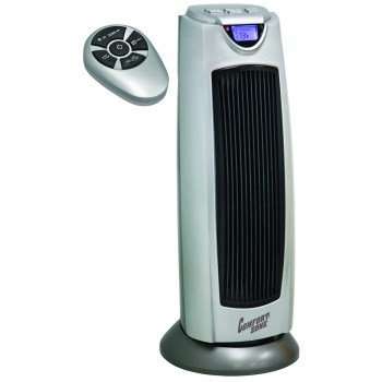 Comfort Zone Ceramic Electric Tower Heater, Oscillating ~ 750/1500 Watt