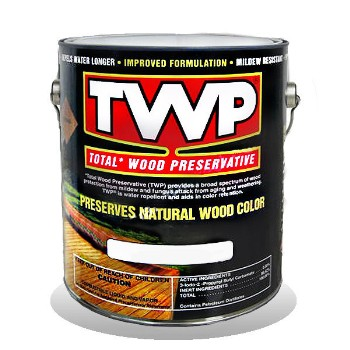TWP/Gemini TWP100-1G TWP Total Wood Preservative, Clear ~ One Gallon